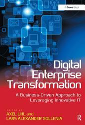Digital Enterprise Transformation Book PDF