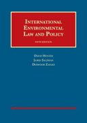 International Environmental Law and Policy PDF