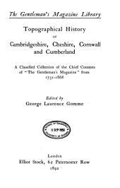 English Topography: (Cambridgeshire-Cumberland). Part II, Part 2