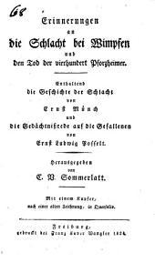 Erinnerungen an die schlacht bei Wimpfen und den tod der vierhundert Pforzheimer