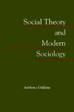 Social Theory and Modern Sociology PDF