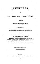 Lectures on physiology, zoology and the natural history of man