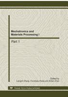 Mechatronics and Materials Processing I PDF