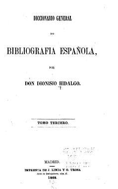 Diccionario general de Bibliograf  a Espa  ola PDF