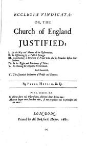 The Historical and Miscellaneous Tracts of Peter Heylyn