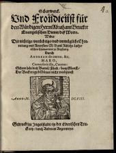 Scharwerck und Frondienst für den würd. H. Abr. Brucker, Evang. Diener deß Worts, wider die nichtige Ehrenrettung und Retorsion M. Barth Rülichs
