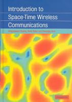 Introduction to Space Time Wireless Communications PDF