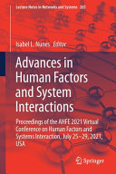 Advances in Human Factors and System Interactions