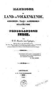 Handboek der land- en volkenkunde, geschied-, taal-, aardrijks- en staatkunde van Nederlandsch Indië: Volumes 1-2