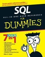 SQL All in One Desk Reference For Dummies PDF