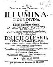 Diss. theol. de illuminatione divina
