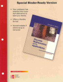 Loose Leaf Version For Discrete Mathematics And Its Application Book PDF
