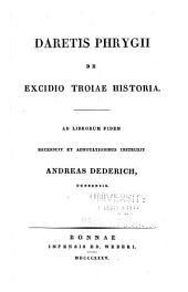 De excidio Troiae historia