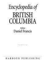 Encyclopedia of British Columbia PDF