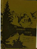 Final Environmental Statement for Timber Management Plan for the Bighorn National Forest PDF