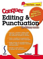 e-Conquer Editing & Punctuation Workbook 1