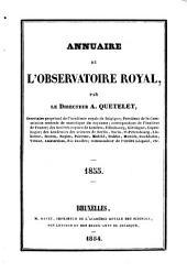 Annuaire de l'Observatoire Royal de Bruxelles: Volume 22