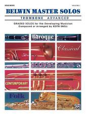 Belwin Master Solos, Volume 1 (Trombone)