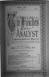 The Preacher s Analyst PDF