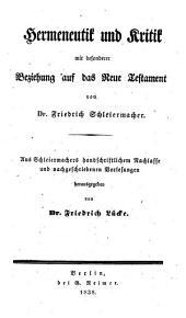 Friedrich Schleiermacher's sämmtliche Werke: Band 7