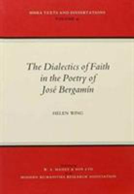 The Dialectics of Faith in the Poetry of Jos   Bergam  n PDF