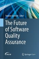 The Future of Software Quality Assurance PDF