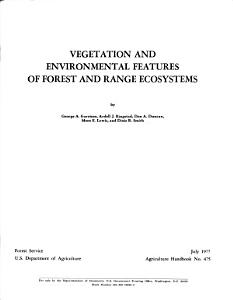 Vegetation and Environmental Features of Forest and Range Ecosystems PDF