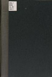 Bovine tuberculosis: Volumes 69-85