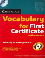Complete First Certificate Student s Book Pack PDF