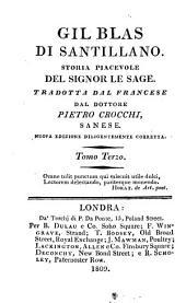 Gil Blas di Santillano: storia piacevole del Signor Le Sage, Volume 3