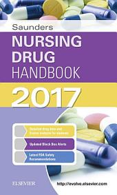 Saunders Nursing Drug Handbook 2017 - E-Book