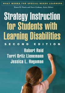 Strategy Instruction for Students with Learning Disabilities PDF