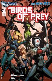 Birds of Prey (2011-) #1