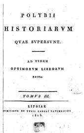 Polybii historiarum quae supersunt