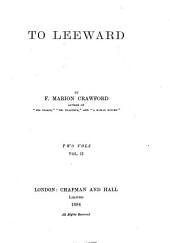 To Leeward: Volume 2