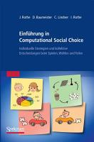 Einf  hrung in Computational Social Choice PDF