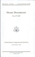 United States Congressional Serial Set  Serial No  14759 House Documents Nos  177 200 PDF