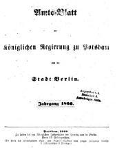 Amtsblatt der Regierung in Potsdam: 1866