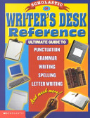 Scholastic Writer s Desk Reference Book