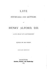 Life  Journals and Letters of Henry Alford  D D  PDF
