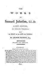 The works of Samuel Johnson, LL.D. : in twelve volumes. 5