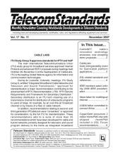 Telecom Standards Newsletter