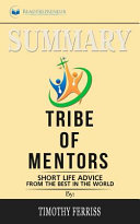 Summary of Tribe of Mentors PDF