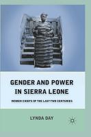 Gender and Power in Sierra Leone PDF