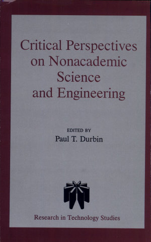 Critical Perspectives on Nonacademic Science and Engineering