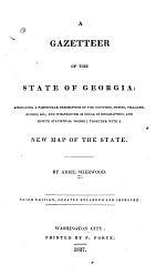 A Gazetteer of the State of Georgia