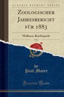 Zoologischer Jahresbericht F  r 1883  Vol  3 PDF
