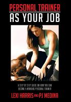 PERSONAL TRAINER AS YOUR JOB PDF