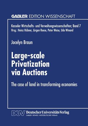 Large scale Privatization via Auctions PDF