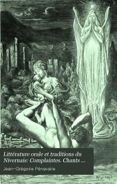Littérature orale et traditions du Nivernais (Morvan, Bazois, Amognes, Puisaye, Vaux d'Yonne, de Loire et d'Allier, etc.)